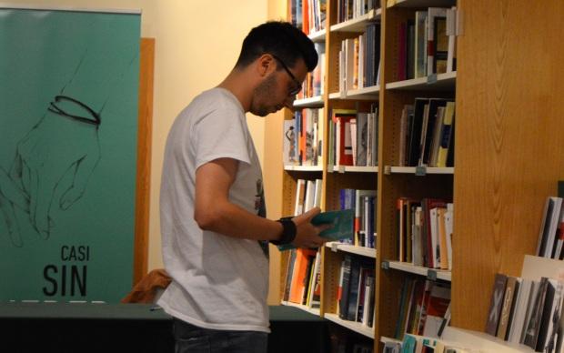 Defreds antes de la firma de libros